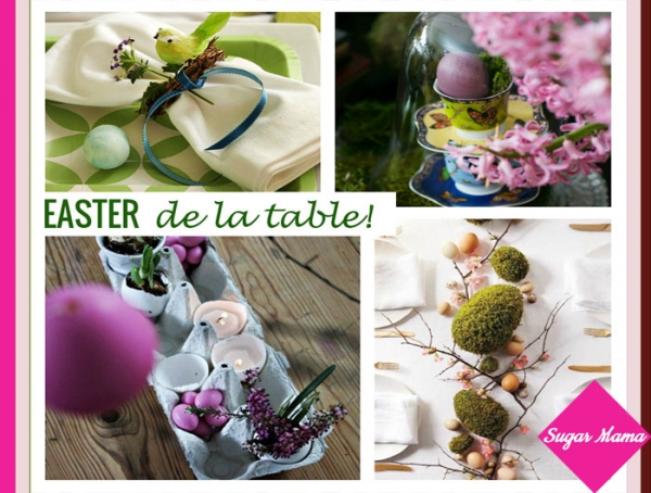 Easter de la table!