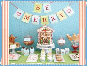 Χριστουγεννιάτικο πάρτι γενεθλίων