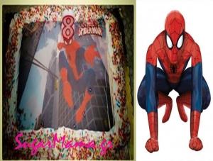 Τουρτα spiderman!!!