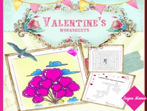 Valentine's Worksheets