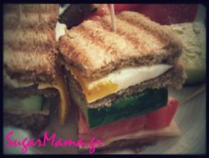 Club Sandwich για παιδιά!!