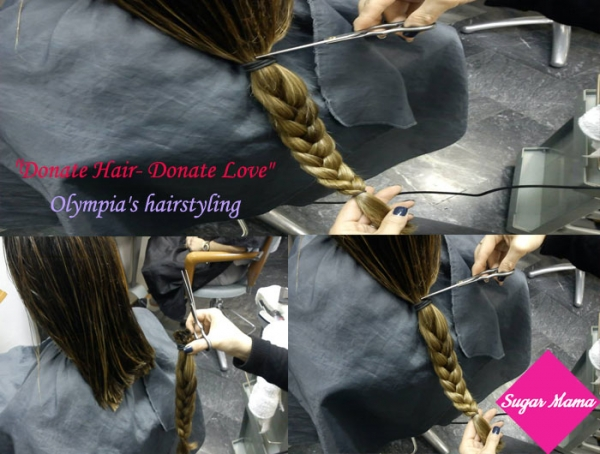 """Donate Hair- Donate Love"" Δωρίστε τα μαλλιά σας σε παιδιά με καρκίνο"