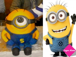 Despicable Me Minion τούρτα!