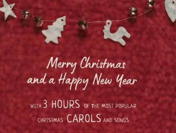 3 Hours of the most popular christmas carols and songs